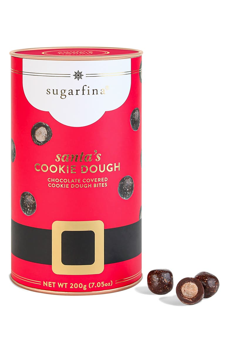 SUGARFINA Cookie Dough Bites Holiday Canister, Main, color, 600