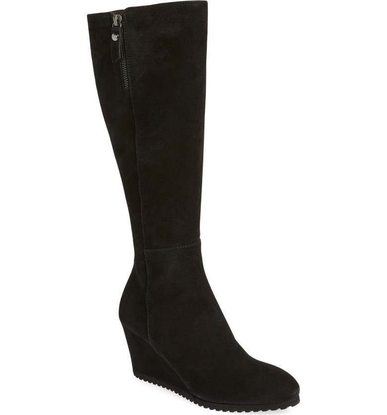 AGL 'Frankie' Tall Wedge Boot, Main, color, 002