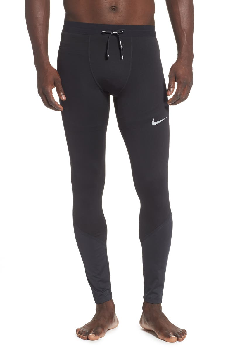 NIKE Power Tech Running Tights, Main, color, 010