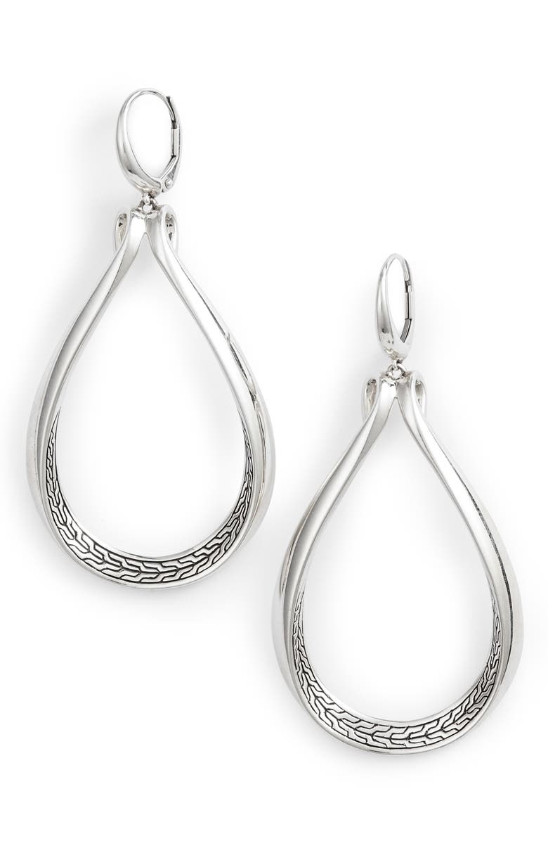 JOHN HARDY Asli Classic Chain Drop Earrings, Main, color, 040