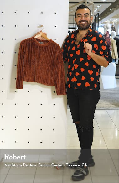 Ribbed Teddy Sweater, sales video thumbnail
