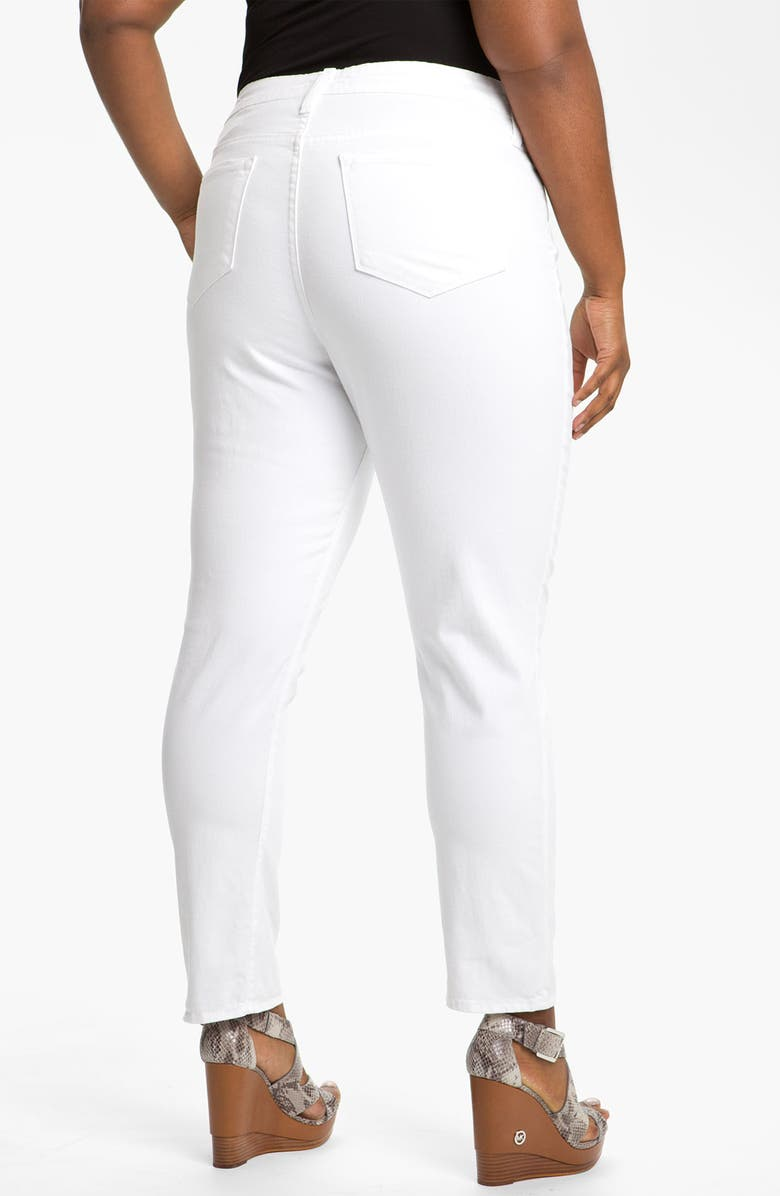 BLUE ESSENCE Colored Twill Skinny Jeans, Main, color, 100