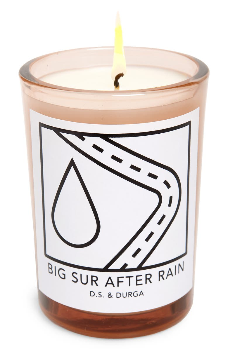 D.S. & DURGA Big Sur After Rain Scented Candle, Main, color, 100