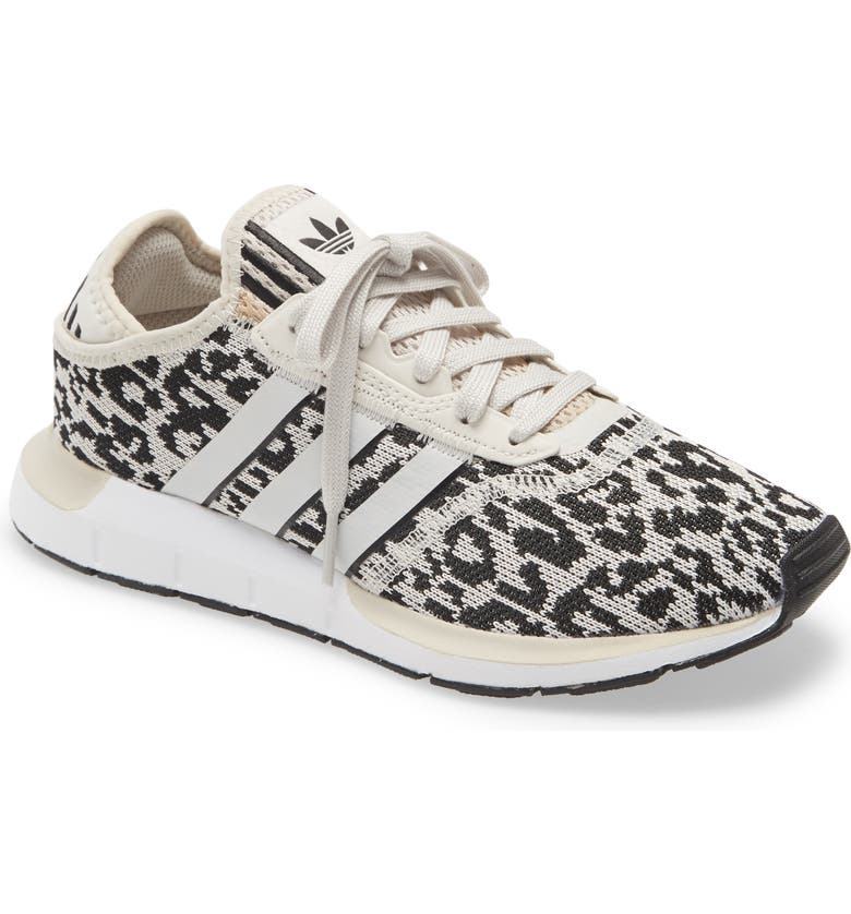 ADIDAS Swift Run X Sneaker, Main, color, RAW WHITE/ BLACK/ RAW WHITE
