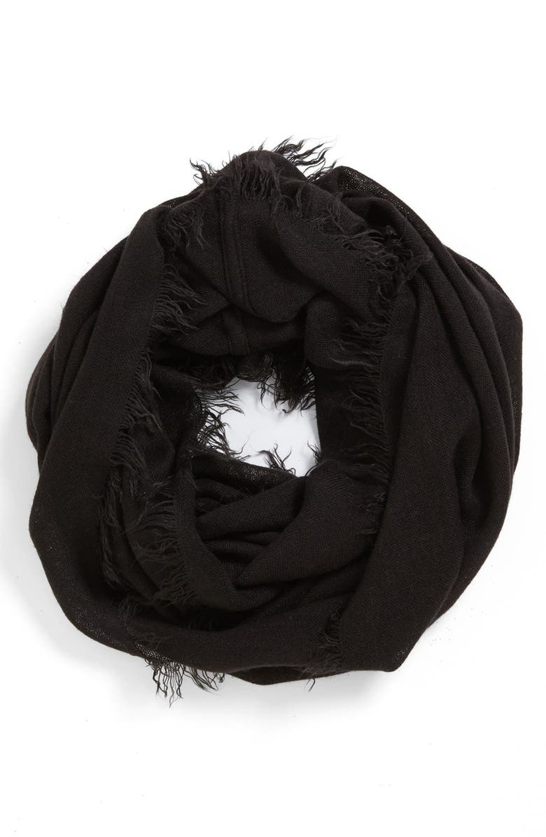 BP. Fringe Infinity Scarf, Main, color, 001