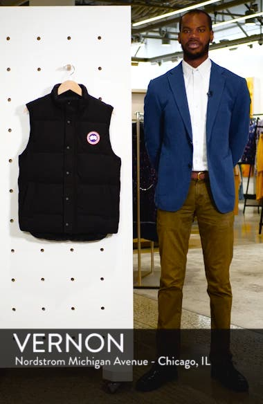 Garson Regular Fit Quilted Down Vest, sales video thumbnail