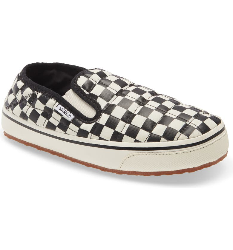 VANS Checkered Slip-On, Main, color, CHECKERBOARD BLACK/ WHITE