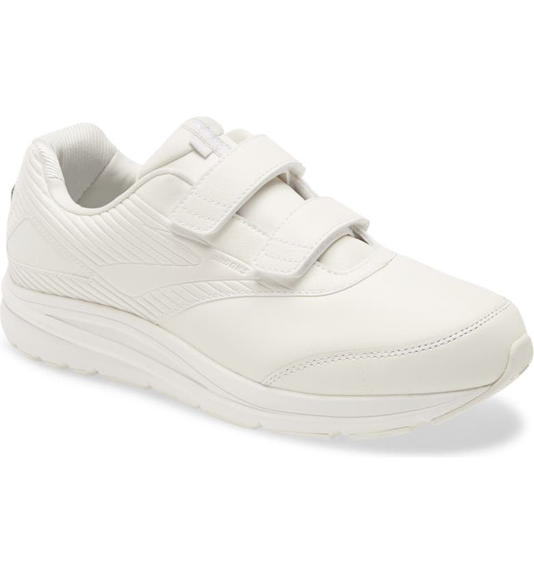 BROOKS Addiction V-Strap 2 Walking Shoe, Main, color, WHITE/ WHITE