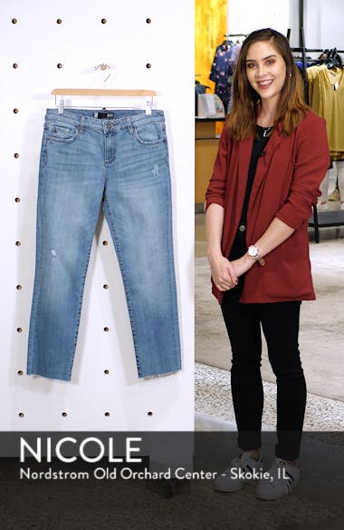 Reese Straight Leg Ankle Jeans, sales video thumbnail