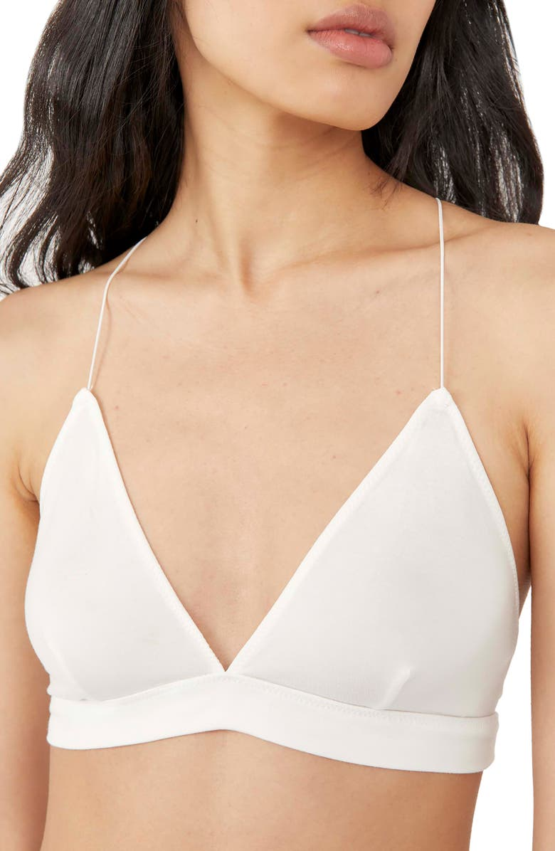 FREE PEOPLE Intimately FP The Essential Triangle Bra, Main, color, IVORY