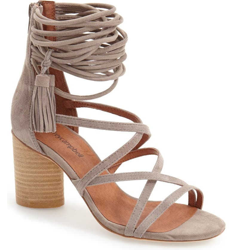 JEFFREY CAMPBELL 'Despina' Strappy Sandal, Main, color, 262