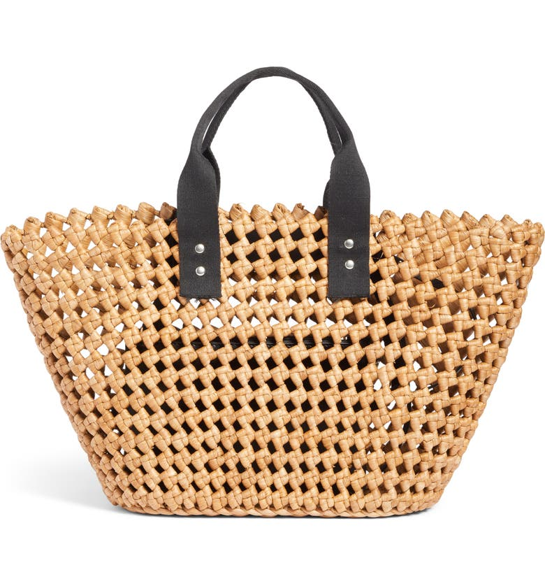 NORDSTROM Open Weave Straw Tote, Main, color, 235