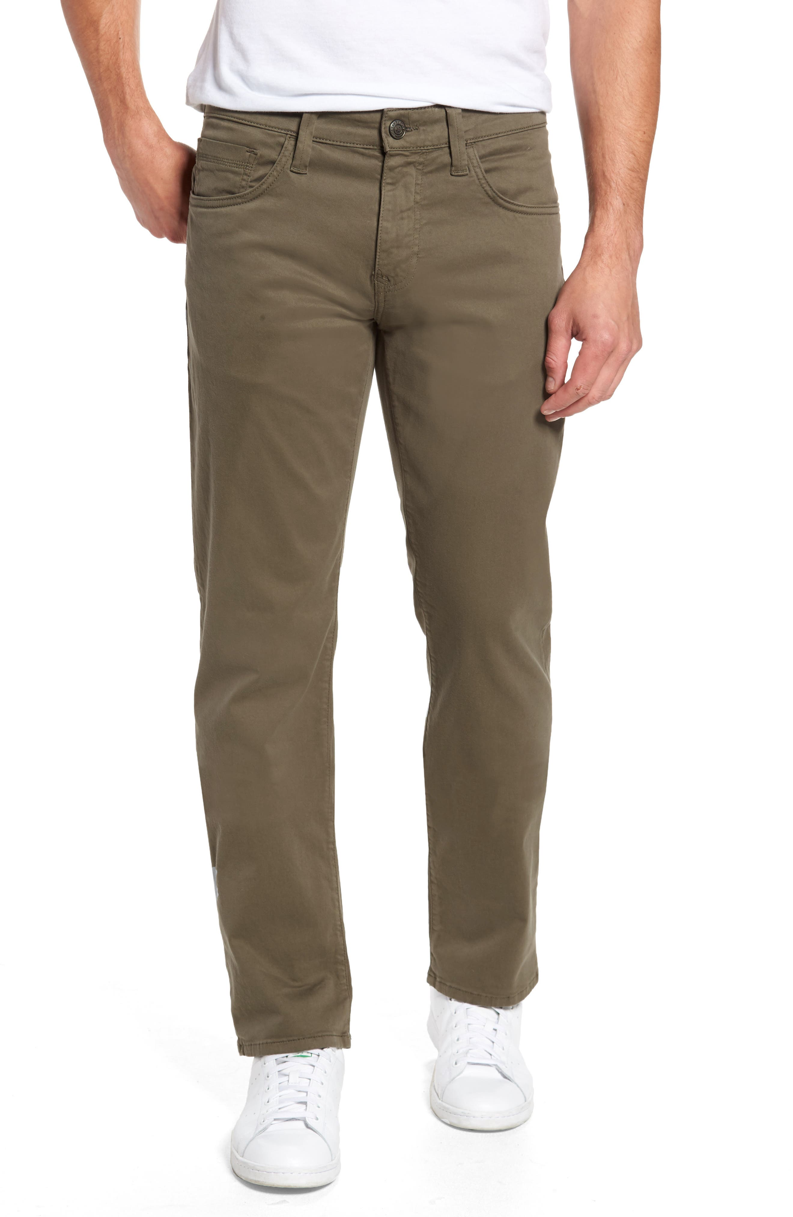 Mavi Mens Zach Straight Leg Twill