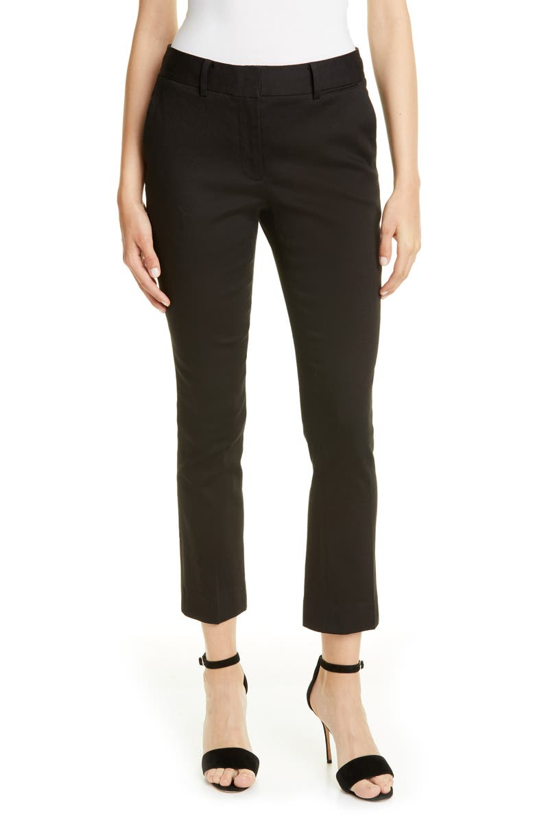 FRAME Perfect Slim Crop Trousers, Main, color, 001
