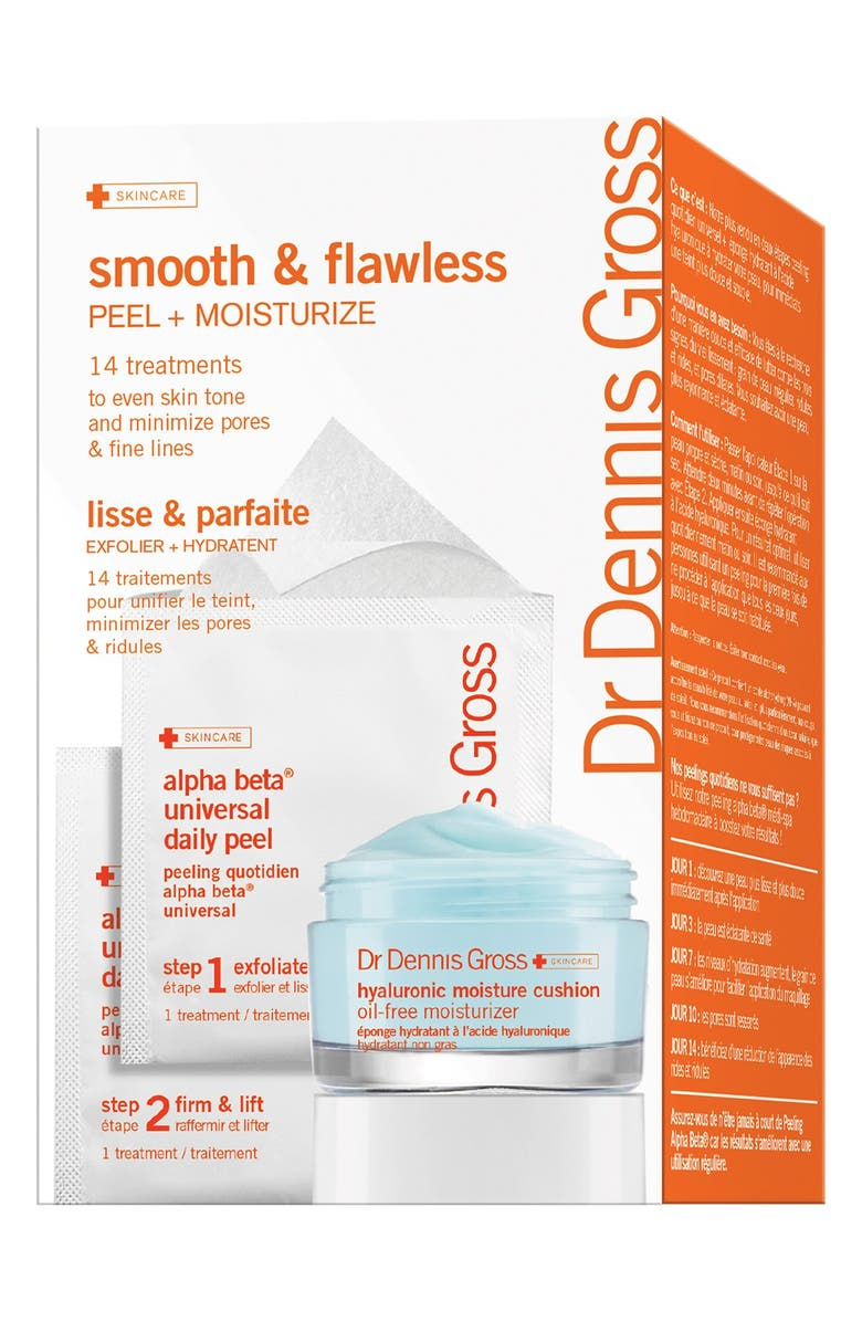 DR. DENNIS GROSS Skincare 'Smooth & Flawless' 14-Day Starter Set, Main, color, 000