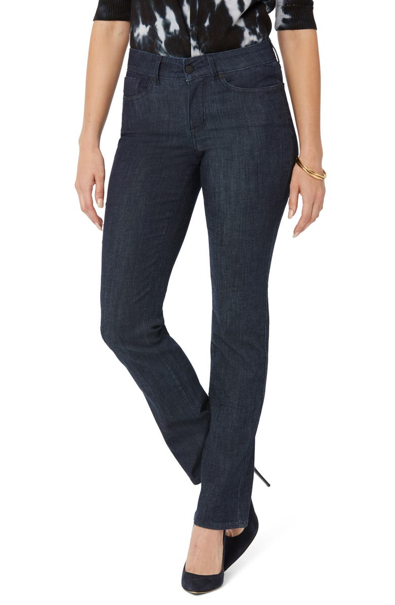 NYDJ Marilyn Straight Leg Jeans, Main, color, LIGHTWEIGHT RINSE