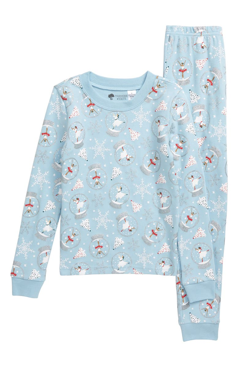 TUCKER + TATE Fitted Two-Piece Pajamas, Main, color, 450