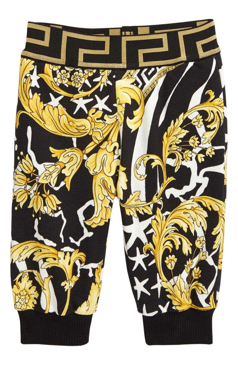 VERSACE Barocco Sweatpants, Main, color, 001
