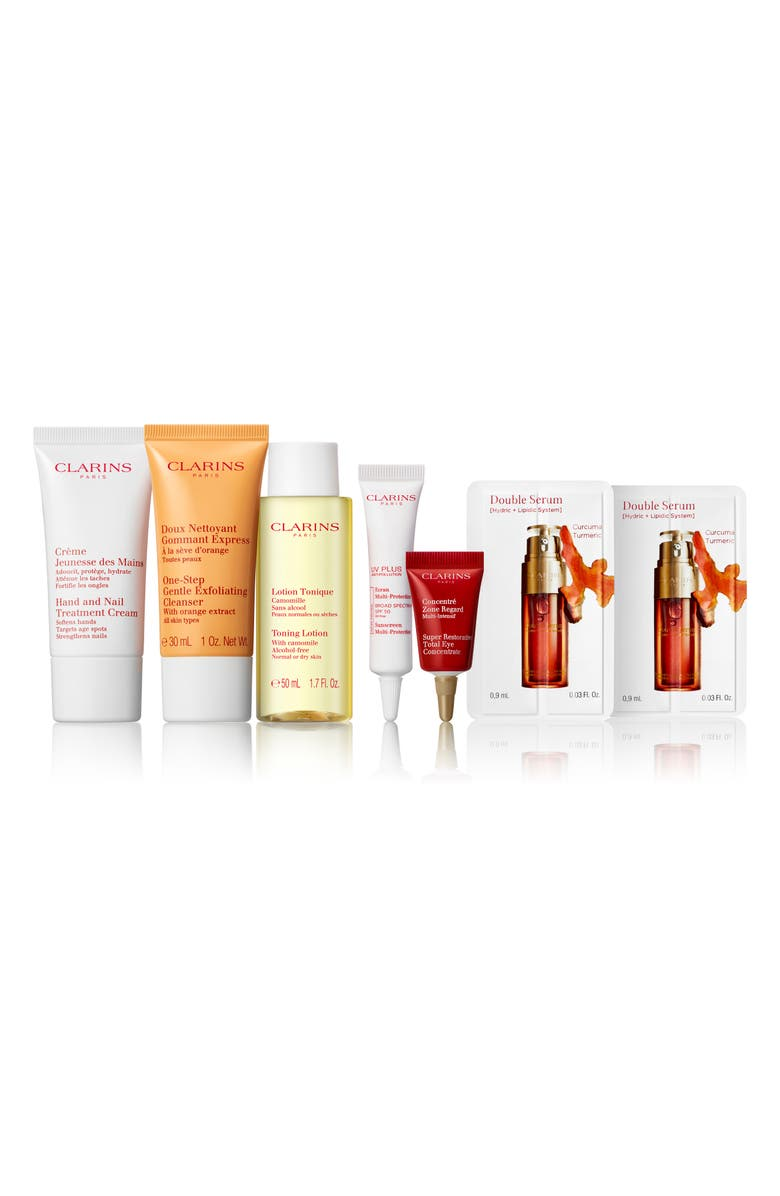 CLARINS Starter Kit, Main, color, 000