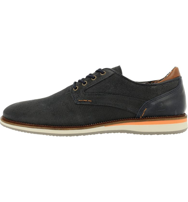 BULLBOXER Textured Leather Derby, Main, color, NYNA