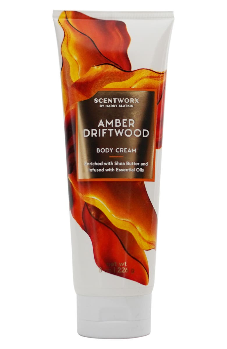 SCENTWORX Amber Driftwood Body Cream, Main, color, NO COLOR