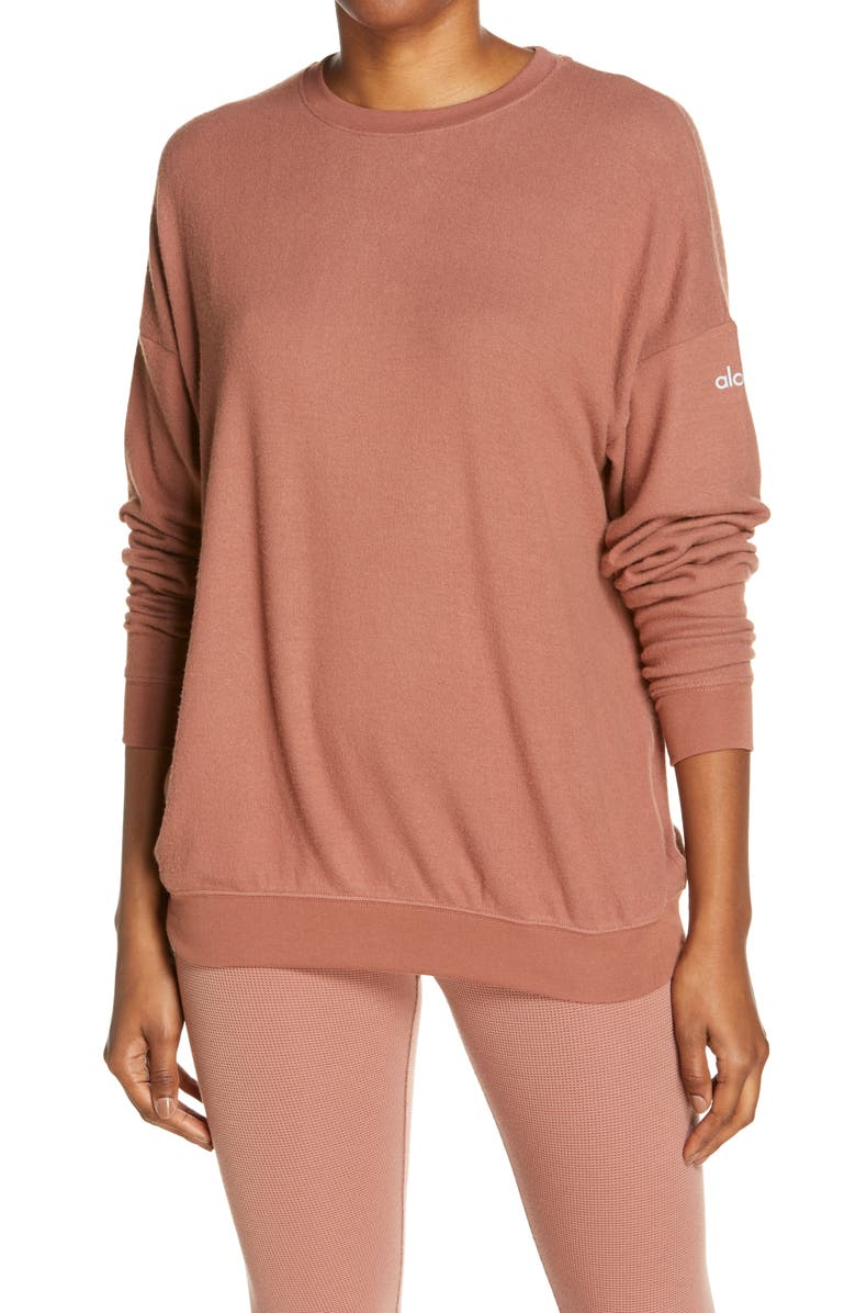 ALO Soho Pullover, Main, color, 232
