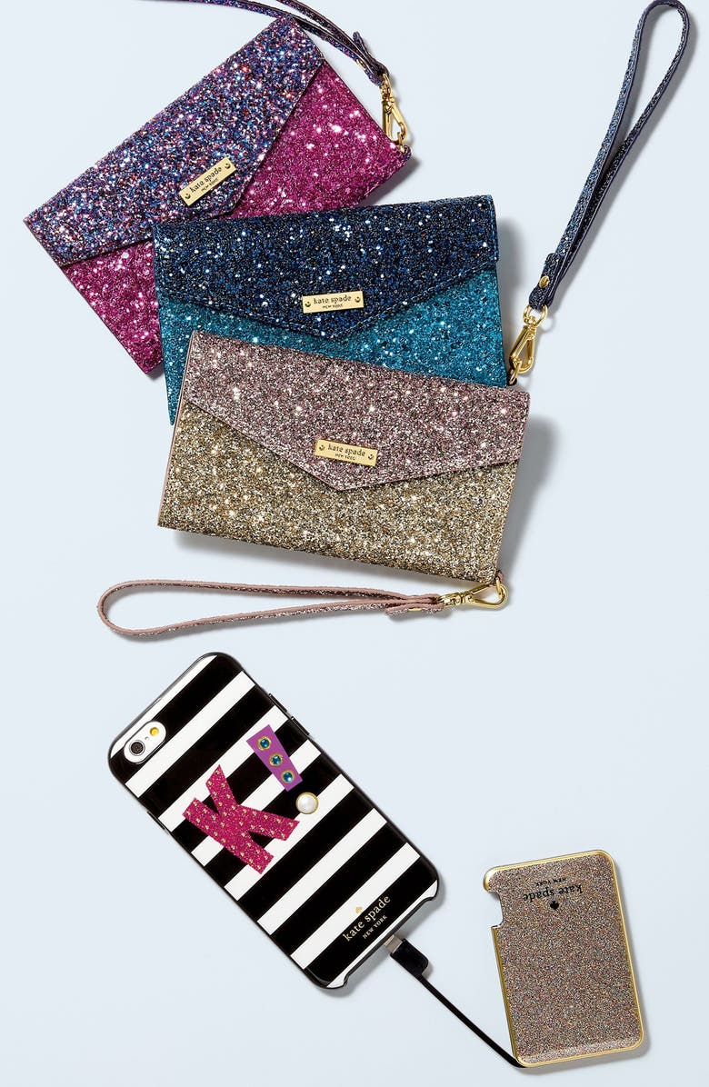 KATE SPADE NEW YORK initial iPhone 7 case, Main, color, 974