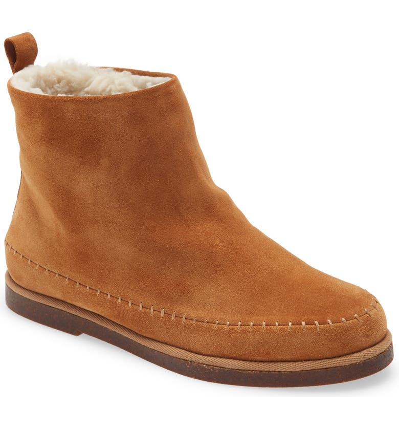 STEVE MADDEN Tommy Bootie, Main, color, CHESTNUT SUEDE