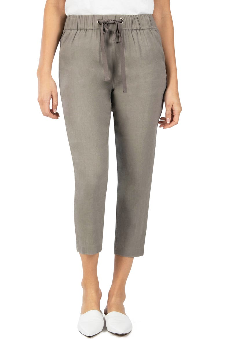 KUT FROM THE KLOTH Pull-On Pants, Main, color, ARTICHOKE