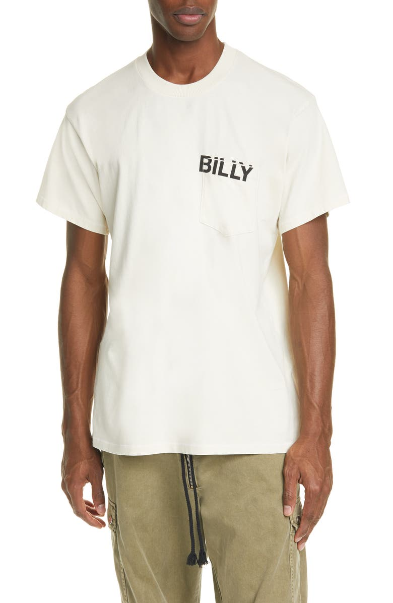 BILLY LOS ANGELES Cowboys Pocket T-Shirt, Main, color, 100