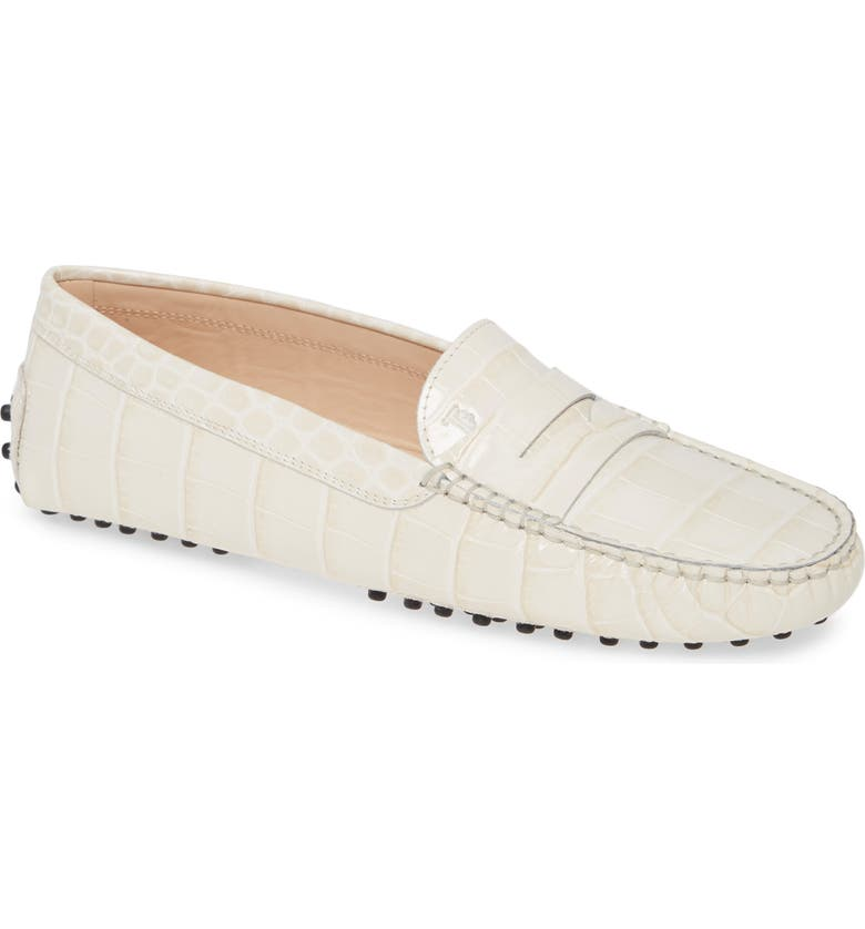 TOD'S Gommini Driving Moccasin, Main, color, 103