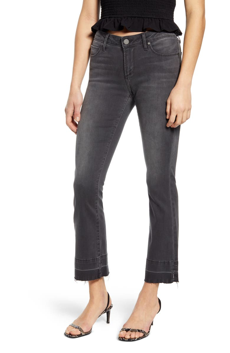ARTICLES OF SOCIETY London Crop Flare Jeans, Main, color, 402