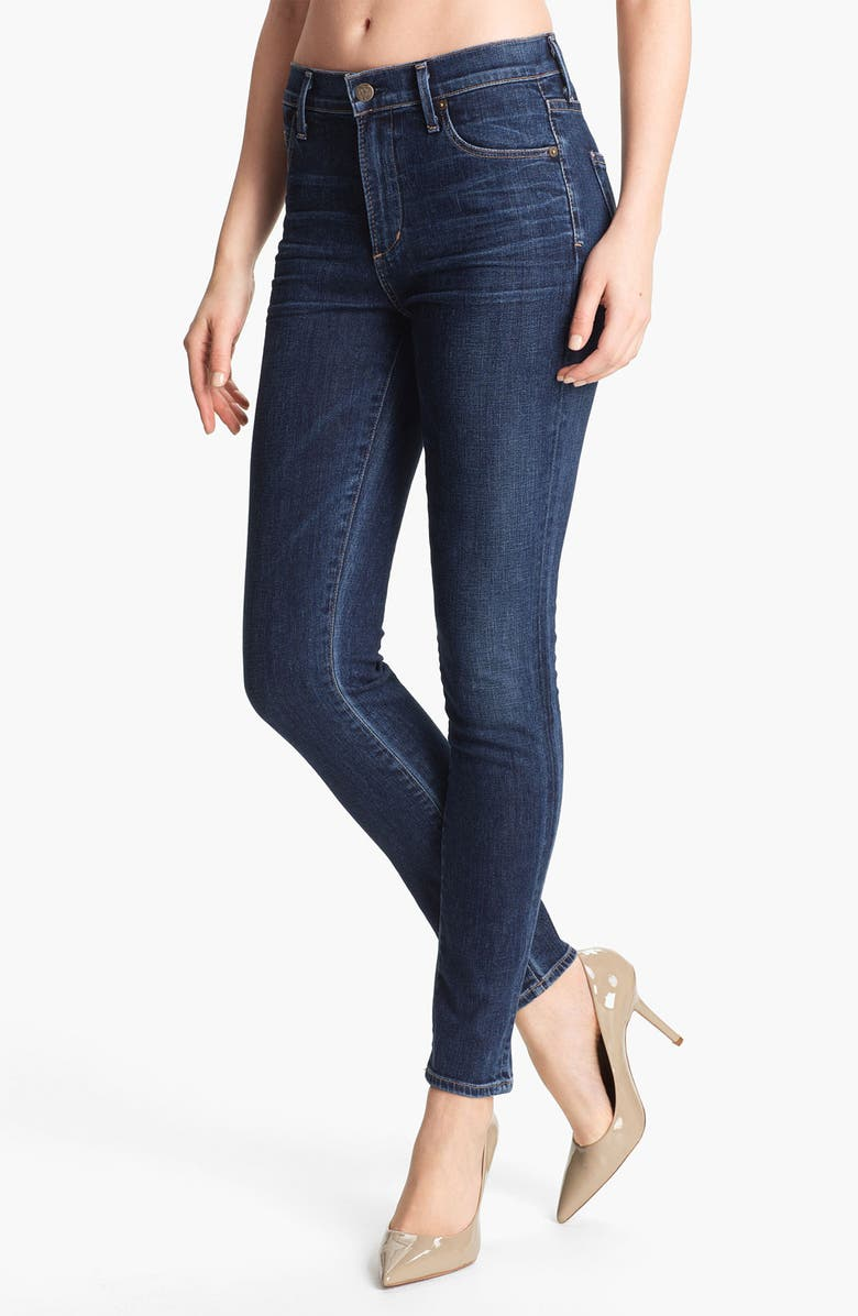 CITIZENS OF HUMANITY 'Rocket' High Rise Skinny Jeans, Main, color, 485