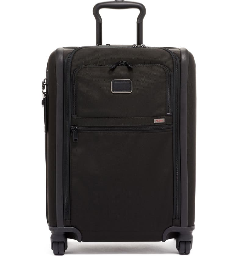 TUMI Alpha 3 Collection 22-Inch Continental Expandable 4-Wheel Packing Case, Main, color, BLACK