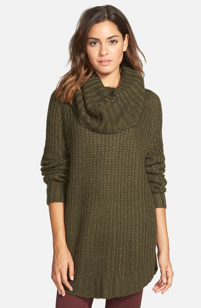 DREAMERS BY DEBUT Cowl Neck Sweater, Main, color, 301
