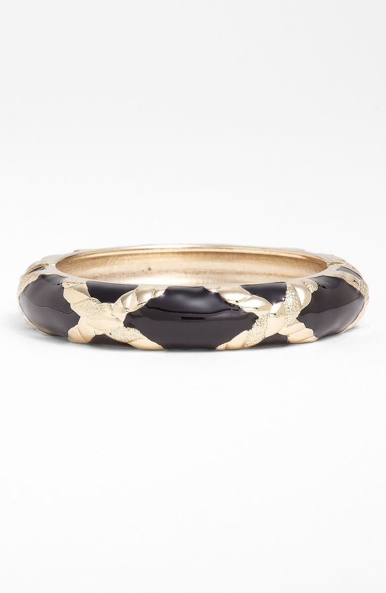 SEQUIN 'X' Large Hinged Bangle, Main, color, 001