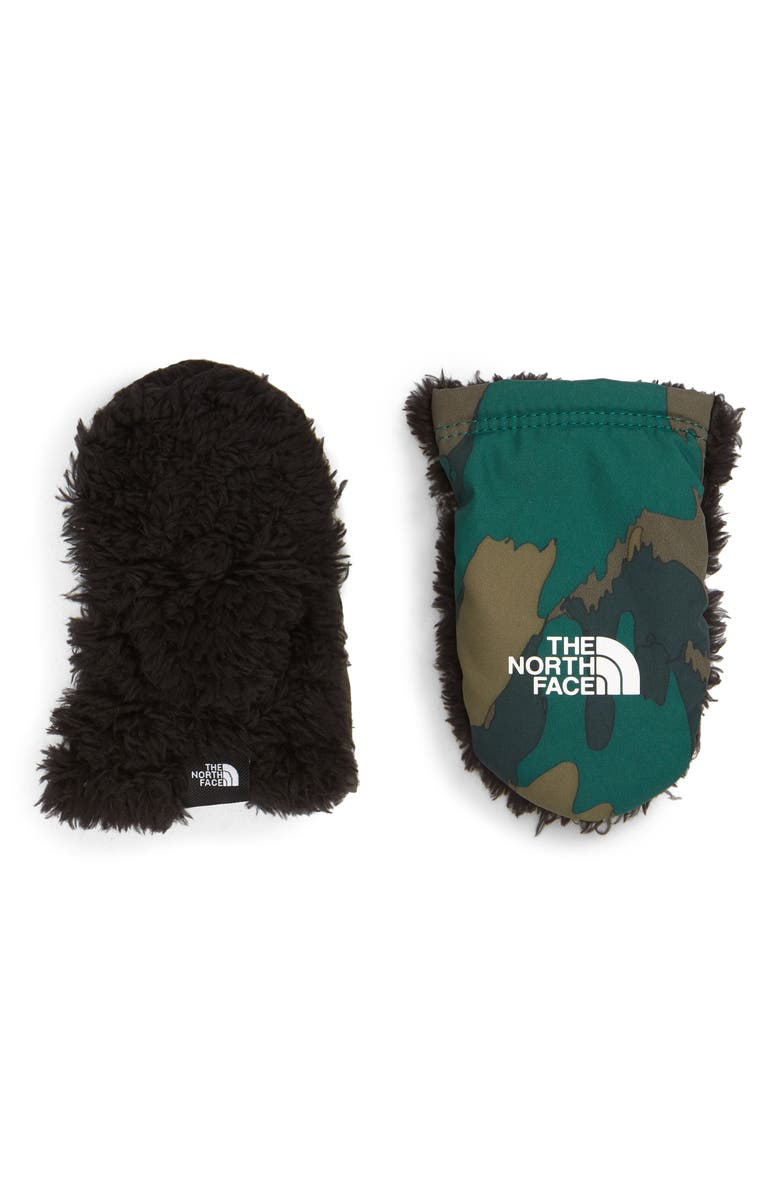 THE NORTH FACE Suave Oso Mittens, Main, color, 301