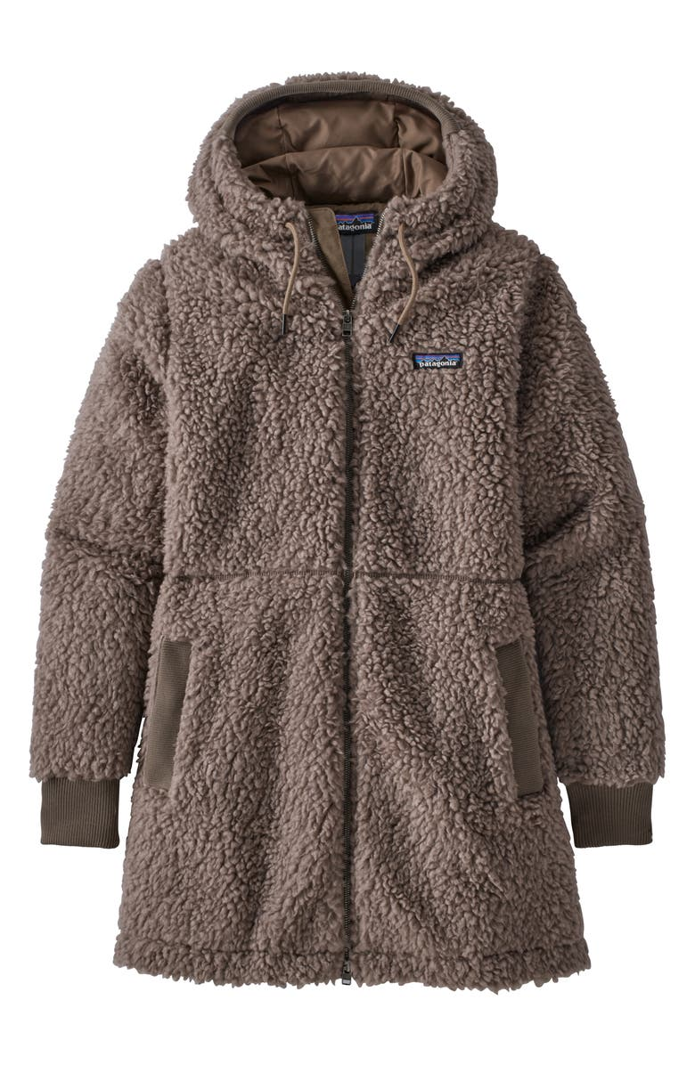 PATAGONIA Dusty Mesa High Pile Fleece Parka, Main, color, 020