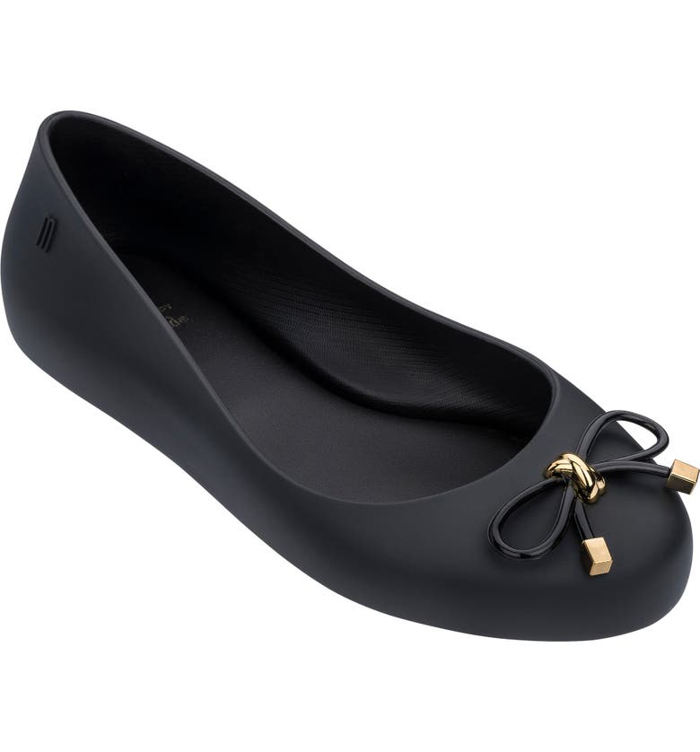 MEL BY MELISSA Sweet Love IV Ballet Flat, Main, color, 001