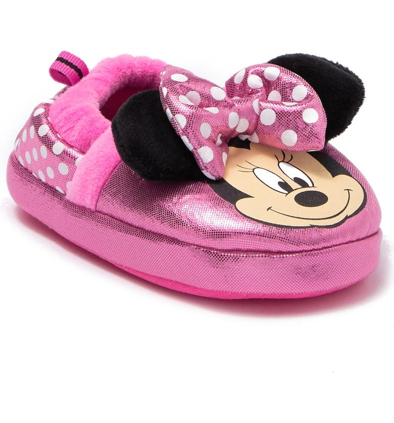 JOSMO Minnie Mouse Slipper, Main, color, PINK