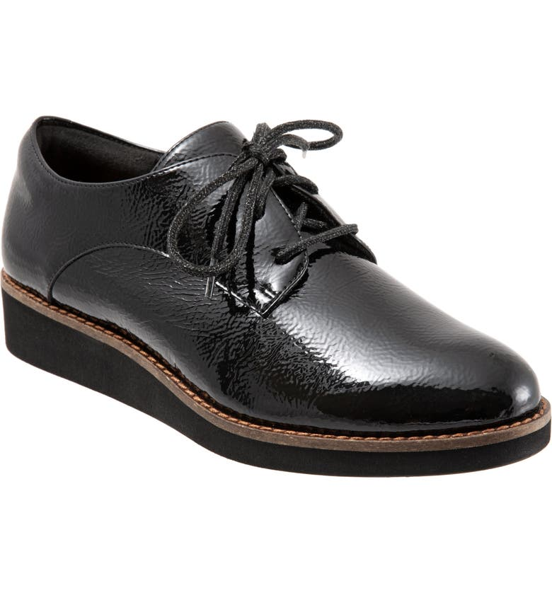 SOFTWALK<SUP>®</SUP> Willis Derby, Main, color, BLACK PATENT LEATHER
