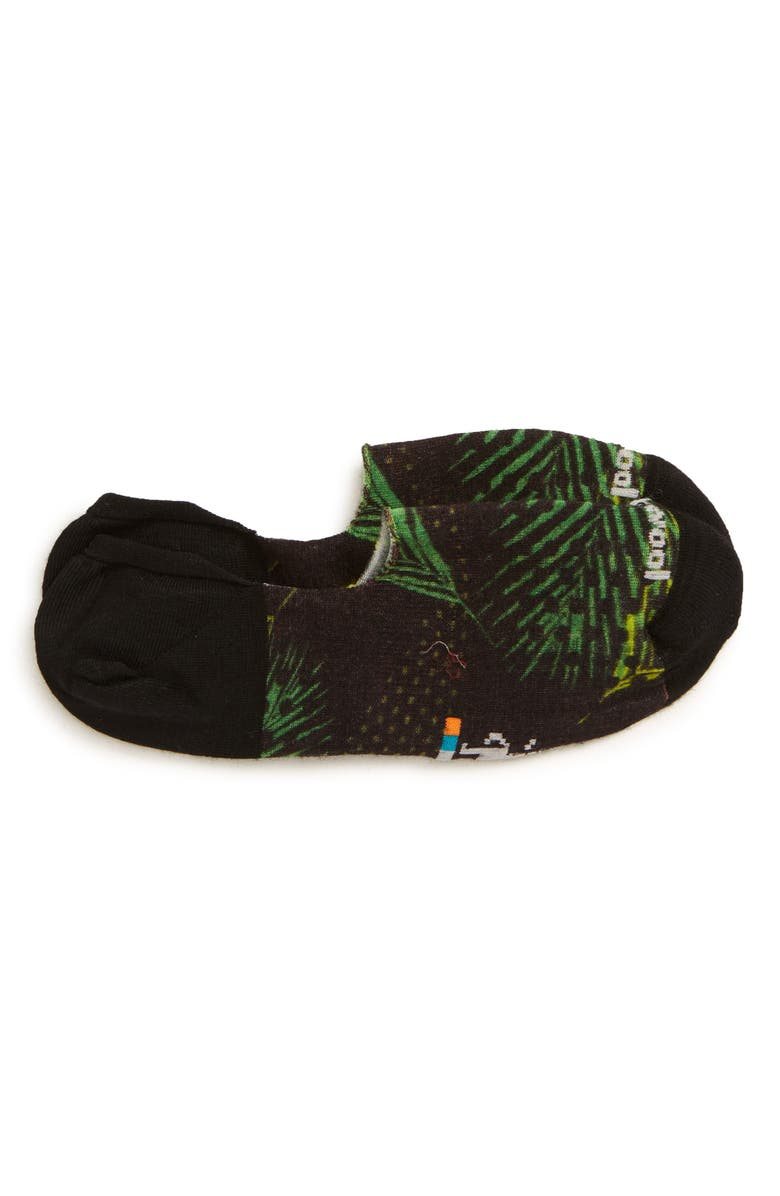 SMARTWOOL Curated Palms No Show Socks, Main, color, 001