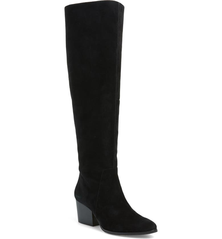 VINCE CAMUTO Nestel Knee High Boot, Main, color, 001