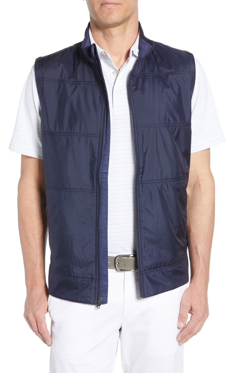 CUTTER & BUCK Stealth Quilted Vest, Main, color, LIBERTY NAVY