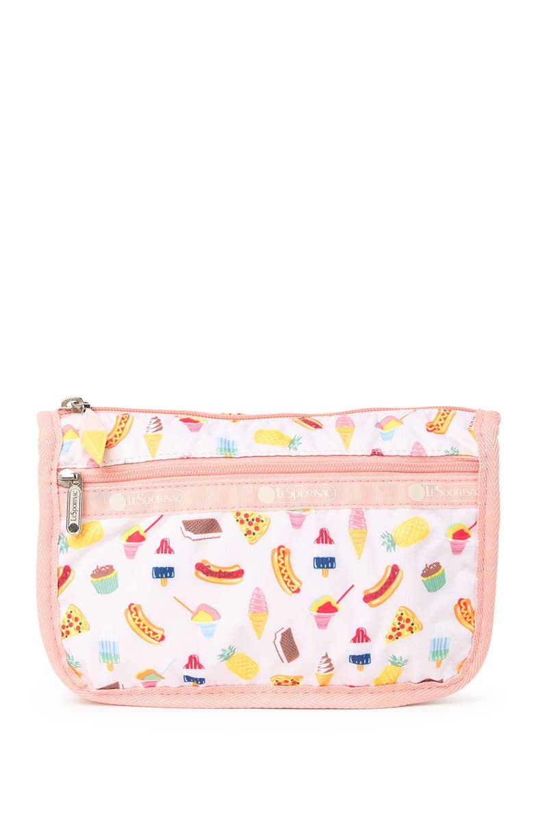 LESPORTSAC Travel Cosmetic Case, Main, color, SUMMER SWEETS
