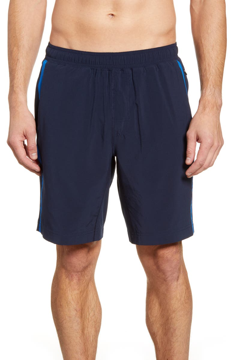 FOURLAPS Advance 9 Inch Shorts, Main, color, NAVY