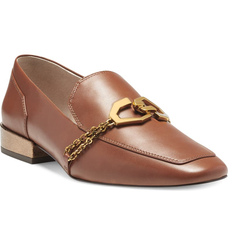 LOUISE ET CIE Everland Loafer, Main, color, BROWN