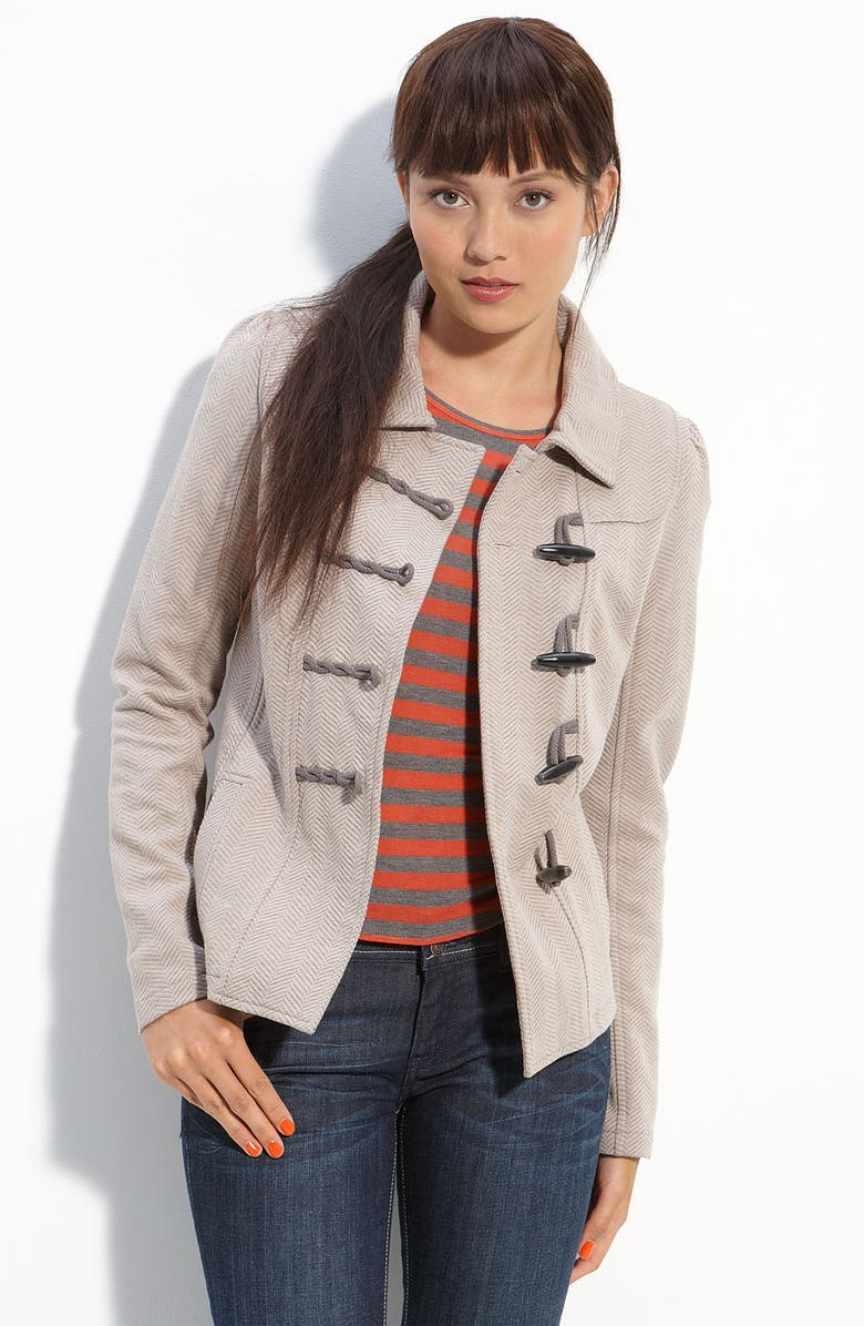 RUBBISH<SUP>®</SUP> Fitted Knit Duffle Jacket, Main, color, 260