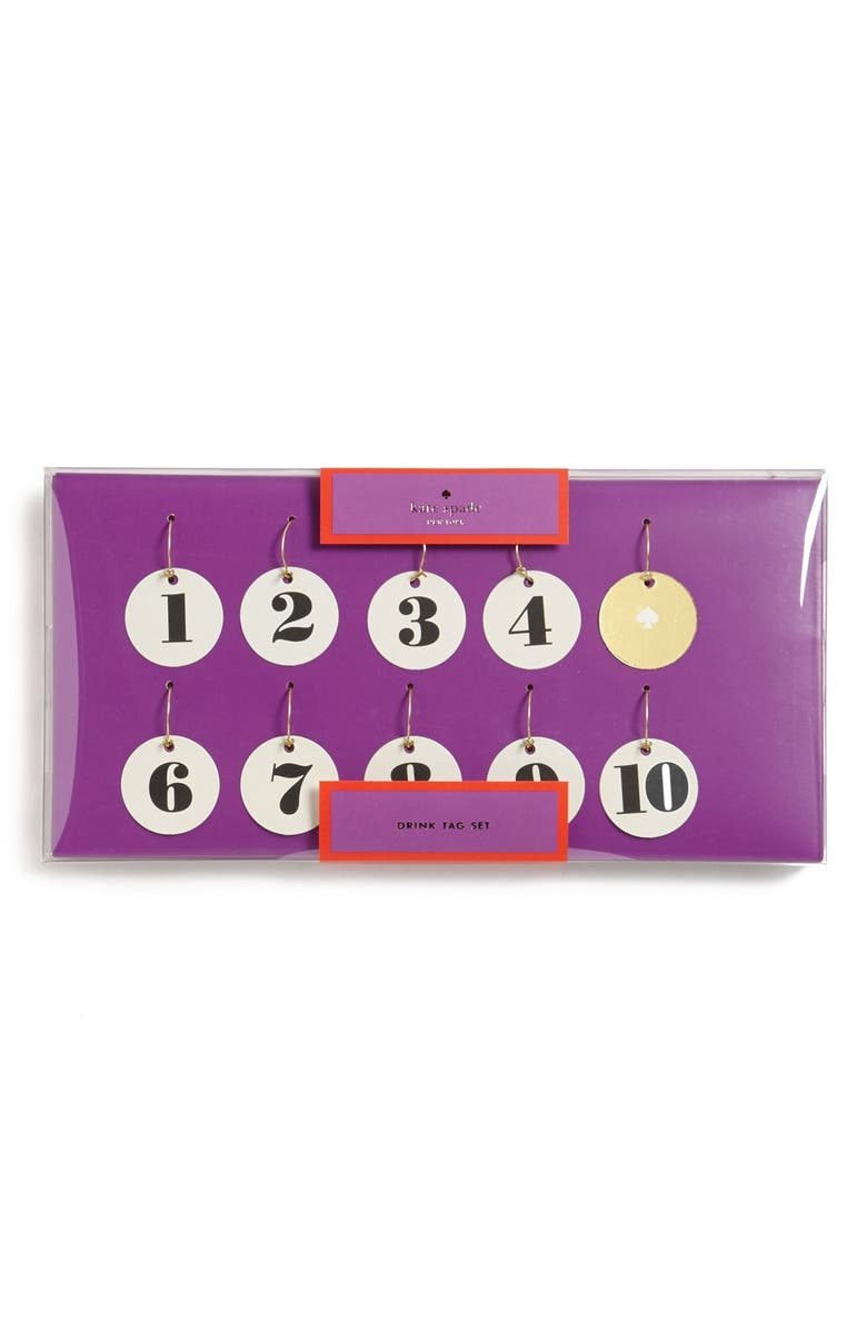 KATE SPADE NEW YORK wine charms, Main, color, 100
