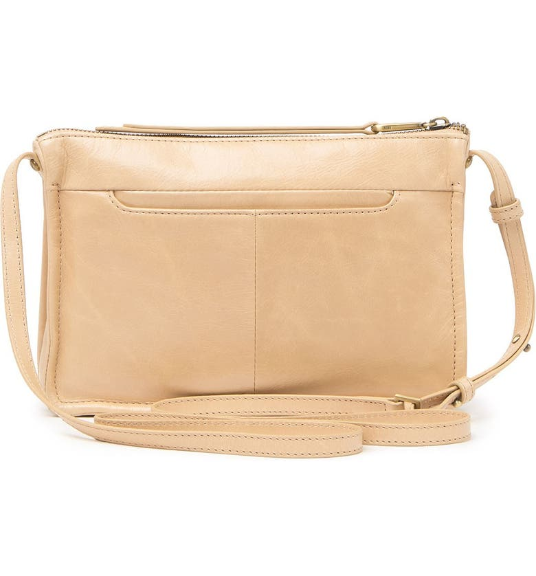 HOBO Mission Leather Crossbody Bag, Main, color, PARCHMENT
